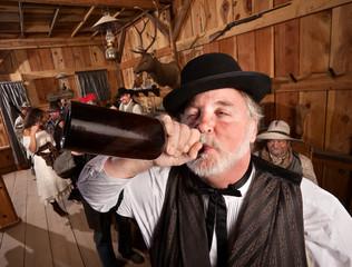 Drunken Man in Bar