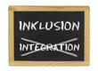 Inklusion statt Integration