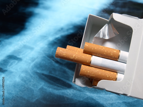 Lung and cigarettes
