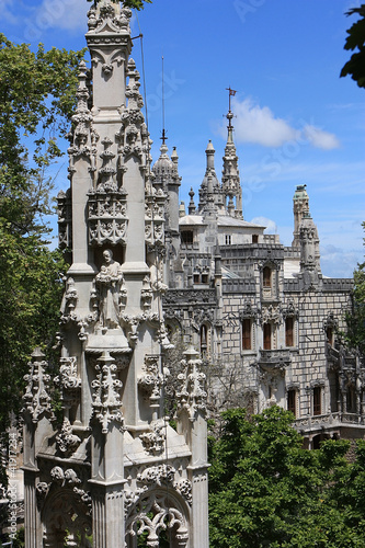 Palace of Monteiro the Millionaire in Sintra, Portugal