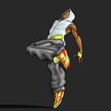 Dancing Trendy Guy
