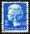 Postage stamp Denmark 1975 Margrethe, Queen of Denmark