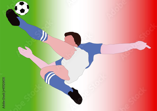 National Football - The Italian - Forza Azzurri