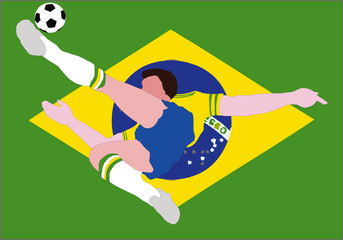National Football - The Brazilian National - Samba of Brazil