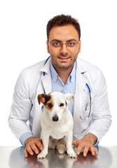Veterinario e paziente
