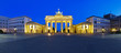 panorama brandenburg gate berlin