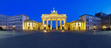 Fototapety panorama brandenburg gate berlin