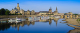 Dresden city panorama