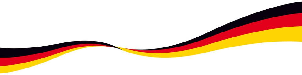 Schwung Linie Band Deutschland 1:4 mit QXP 9 Datei
