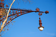 Barcelona Paseo de Gracia streetlight Falques