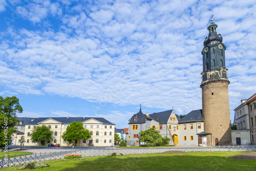 City Castle of Weimar in Germany