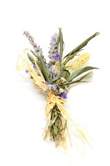 Mazzolino di fiori secchi - Bouquet of dried flowers
