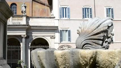 Fontana della Basilica di Santa Maria in Trastevere