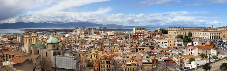 Cagliari panorama