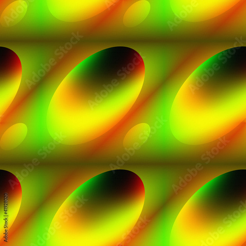 Oval variegated seamless embossed abstract background.