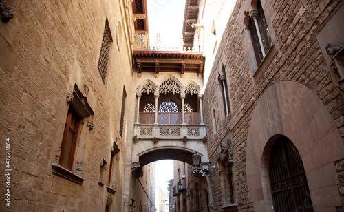 Barcelona Palau generalitat in gothic Barrio