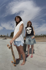 skaters girls