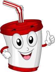 Plastic Cup Mascot