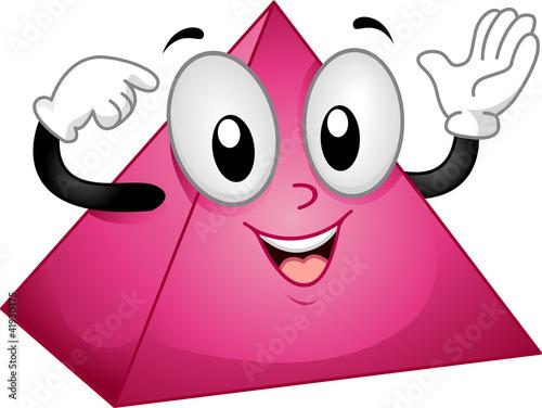 Pyramid Mascot