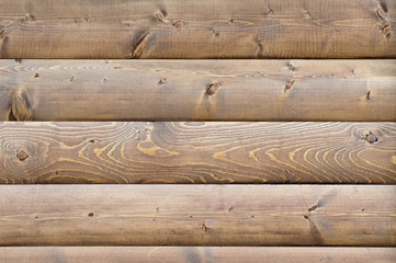 Background of horizontal wooden planks