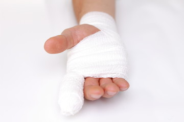 injury of a finger
