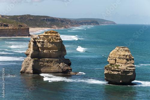 view from the great ocean road Australia © nataiki
