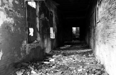 ruin in Comacchio, italy