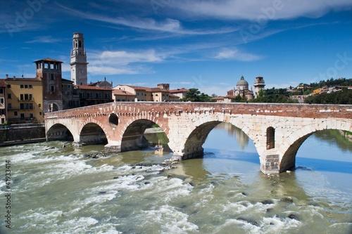 ponte romano sull'adige