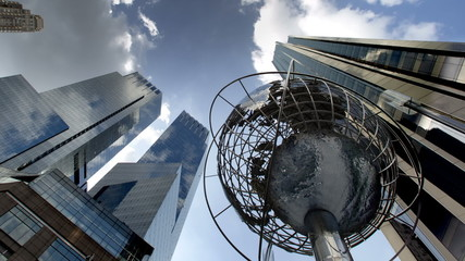 Columbus Circle in NYC