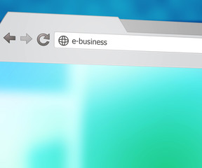 E-Business Browser Background