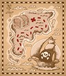 Treasure map theme image 1