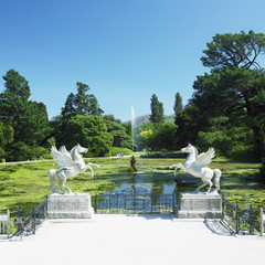Triton's Lake, Powerscourt Gardens, County Wicklow, Ireland