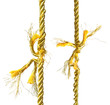 Two torn Gold ropes