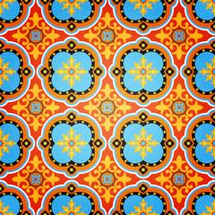 Colorful Decorative Seamless Pattern