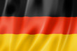 Leinwanddruck Bild - German flag