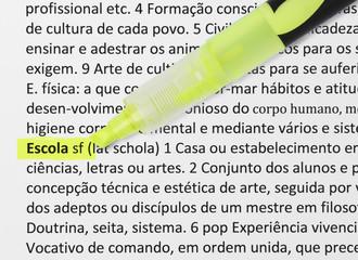 ESCOLA - Dicionário