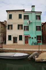 case colorate a Burano (Venezia)
