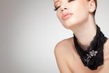 Fototapeta luksus - srebrny - Kobieta