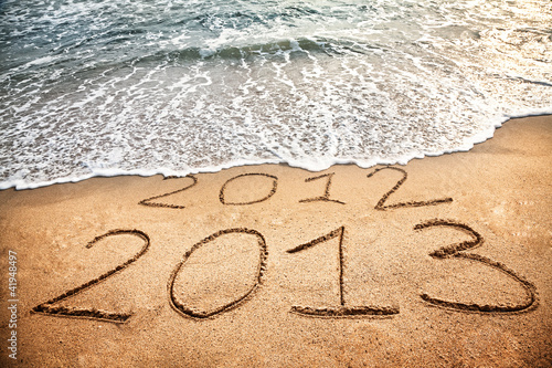 New year 2013 is coming