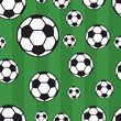 seamless soccer pattern, background