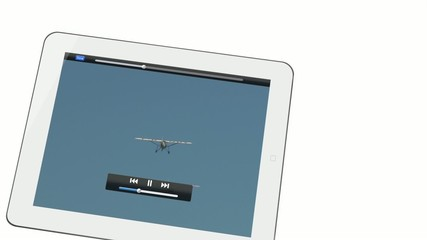 vidéo 2 avions et tablette
