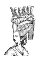 Extravagant Hair - 18th century