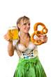 Dirndl, Breze, Bier, Fest,