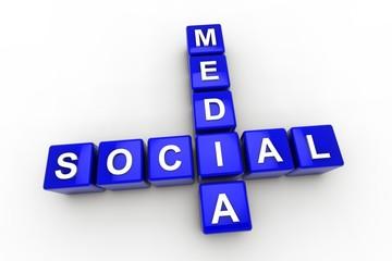 SOCIAL MEDIA BLUE