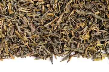 Grüner Tee-Hintergrund