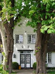 Friesenhaus Eingang
