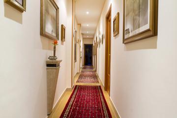 Lobby, corridor, home