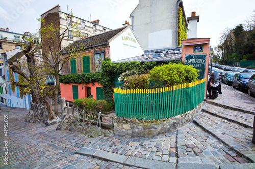 Paris, Frankreich. Montmartre