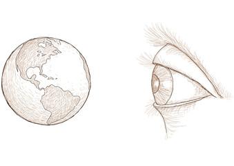 occhio e mondo