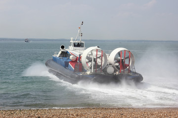 Passenger Hovercraft from Southsea